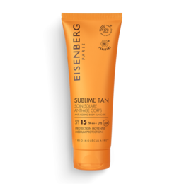 Soin Solaire Anti-Âge Corps SPF 15